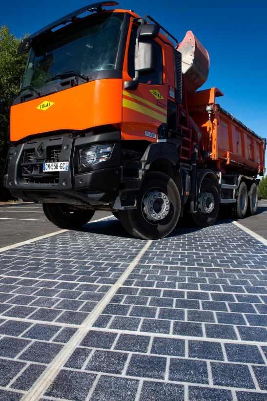 COLAS - Wattway - route solaire @ Magny-Les-Hameaux (78)