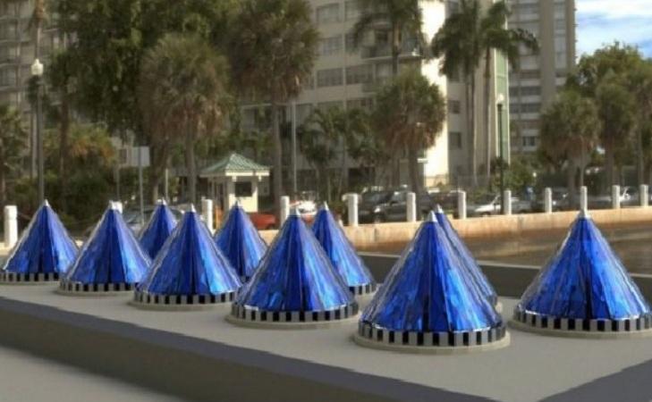 Nuevos inventos: Cono solar genera 20veces más energía que panel común
