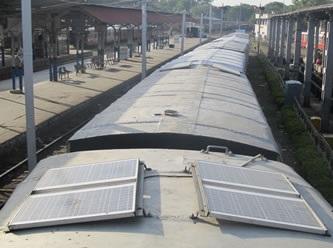 solar trenes india