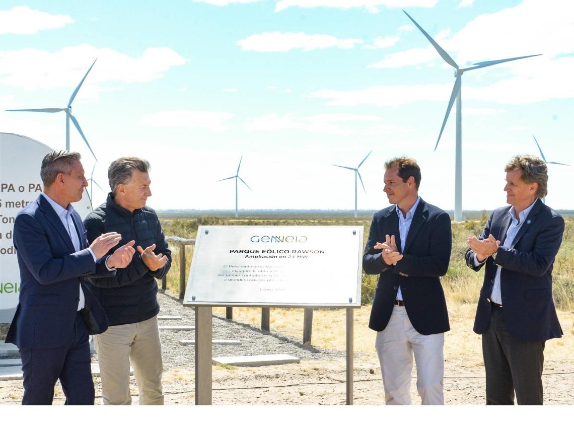 ENERGIA LIMPIA XXI EOLICO ARGENTINA FOTO PRESIDENCIA