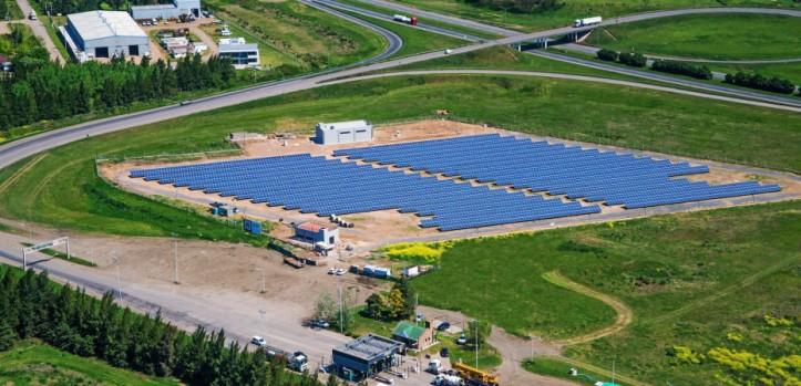 ENERGIA LIMPIA XXI NUEVA PLANTA SOLAR EN SANTA FE ARGENTINA