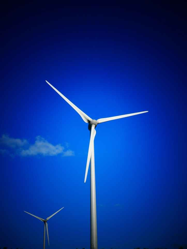 alternative alternative energy blade blue sky