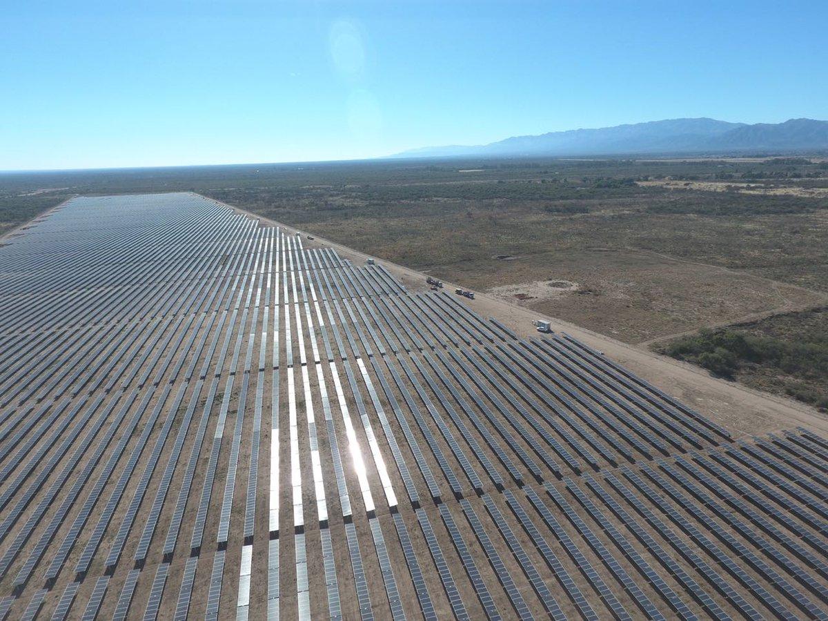 Entró en operaciones el primer parque solar