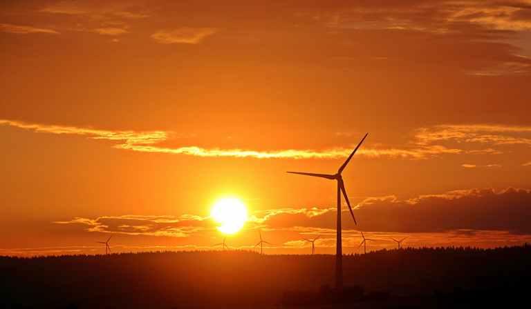electric windmill