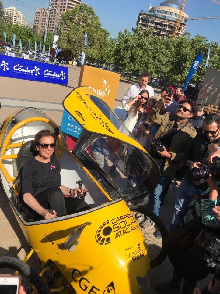 """602a198a6b893 Chile """"Carrera Solar Atacama 2018"""" destaca potencial de Chile en energía solar  y transporte sostenible"""