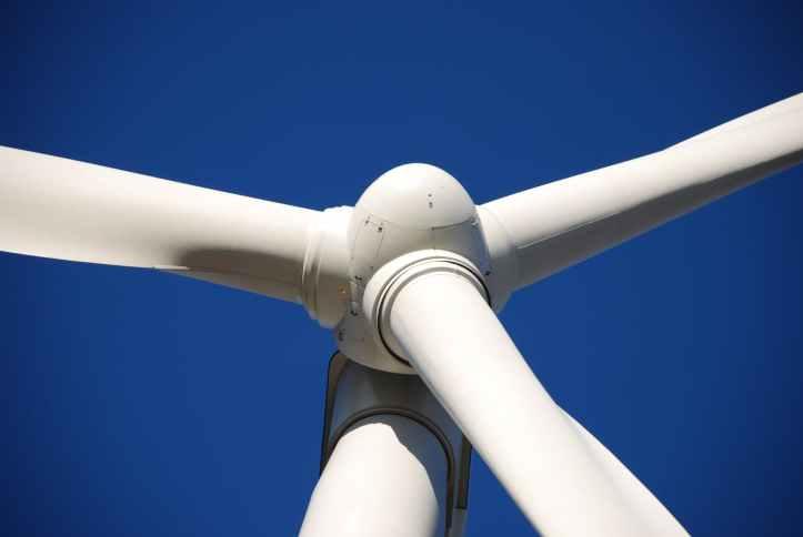 energía verde eólica limpia