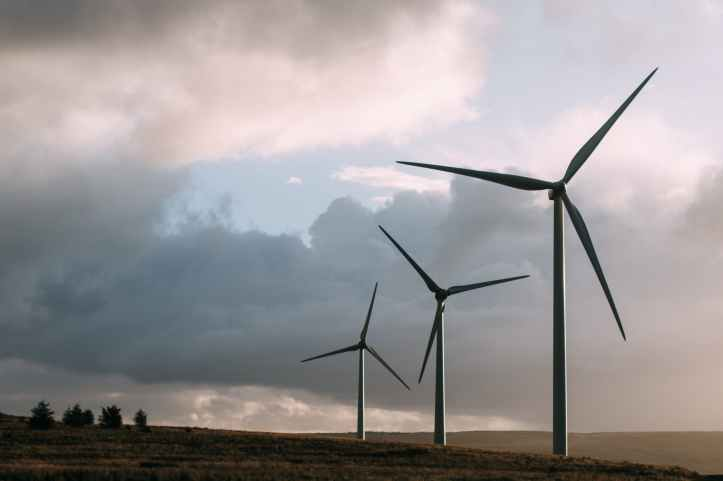 alternative energy blade clouds ecology