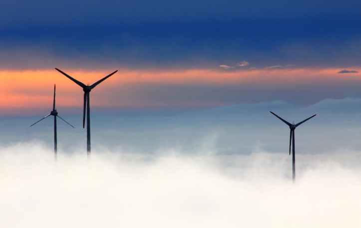 black windmill