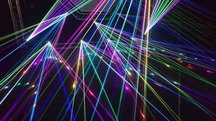 abstract art blur bright