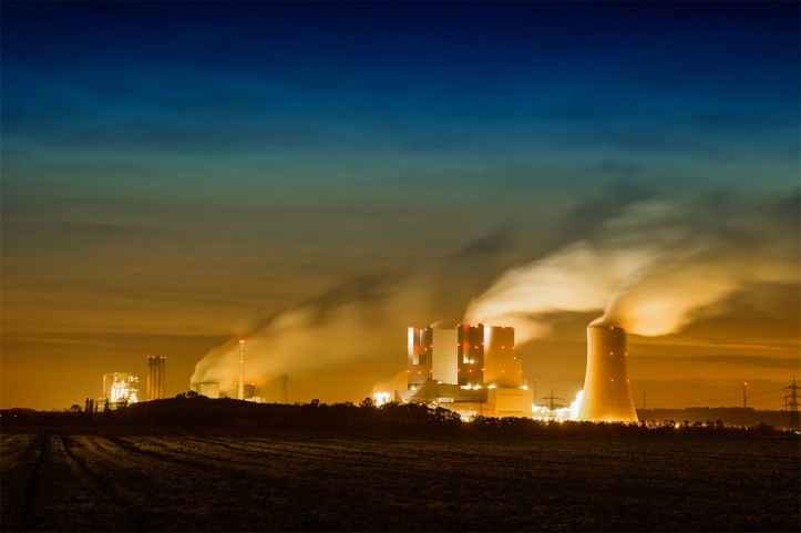 air pollution business clouds coal
