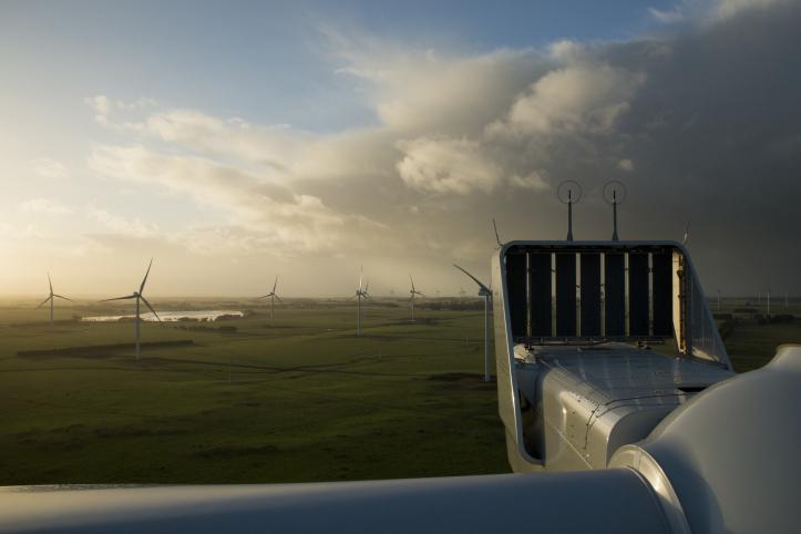 V112 installation, Macarthur Windfarm, Australia