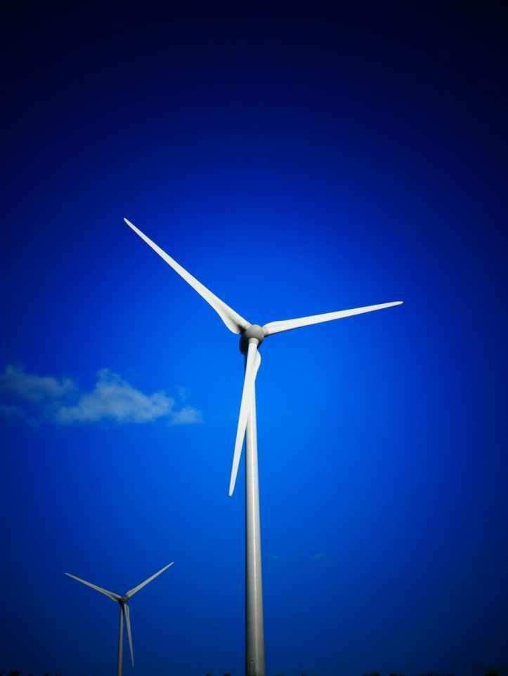 alternative alternative energy blade blue sky