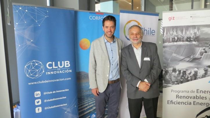 Hans (H2Chile) & Eduardo Bitran (Club de Innovación), Misión Cavendish