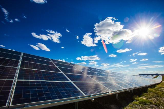 Foto parque solar